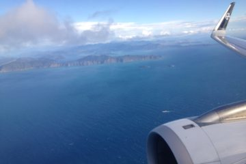 Flying to NZ