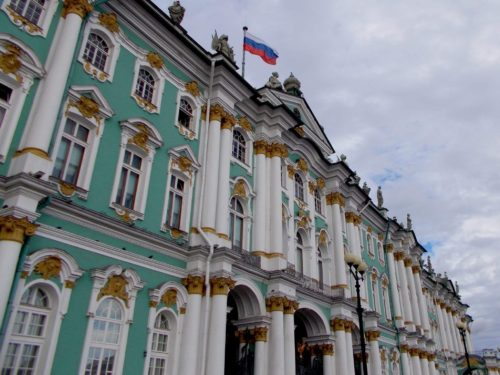 Winter Palace/Hermitage (Зимний Дворец/Эрмитаж), courtesy of my friend, Irina